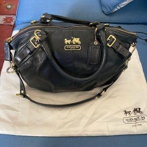 Leather Coach Purse w dust bag